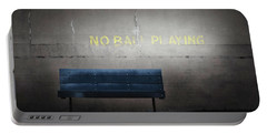 No Ball Playing Portable Battery Charger