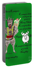 No Happy Gnu Year Portable Battery Charger