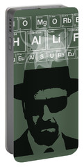 No More Half Measures - Breaking Bad Poster Walter White Quote Portable Battery Charger
