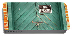 No Parking Warehouse Door Portable Battery Charger