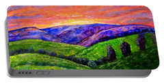 No Place Like The Hills Of Tennessee Portable Battery Charger by Kimberlee Baxter