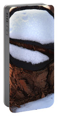 No Snow Sign  Portable Battery Charger by Kim Henderson