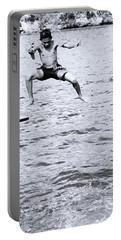 Portable Battery Charger featuring the photograph No Turning Back by Jez C Self