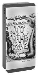 No Wake Zone, Mermaid Portable Battery Charger
