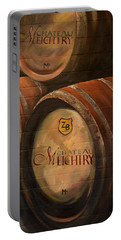 No Wine Before It's Time - Barrels-chateau Meichtry Portable Battery Charger