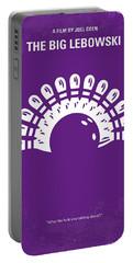 No010 My Big Lebowski Minimal Movie Poster Portable Battery Charger