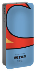 No010 My Waynes World Minimal Movie Car Poster Portable Battery Charger