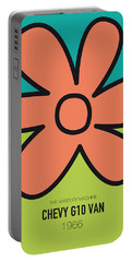 No020 My Scooby Doo Minimal Movie Car Poster Portable Battery Charger by Chungkong Art