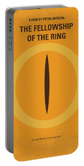 No039-1 My Lotr 1 Minimal Movie Poster Portable Battery Charger