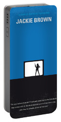 No044 My Jackie Brown Minimal Movie Poster Portable Battery Charger