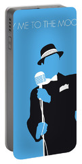 No059 My Sinatra Minimal Music Poster Portable Battery Charger