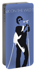 No068 My Lou Reed Minimal Music Poster Portable Battery Charger