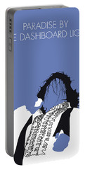 No078 My Meat Loaf Minimal Music Poster Portable Battery Charger