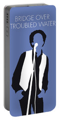 No098 My Art Garfunkel Minimal Music Poster Portable Battery Charger