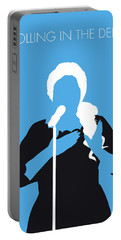 No099 My Adele Minimal Music Poster Portable Battery Charger