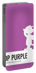 No11 My Minimal Color Code Poster Top Cat Portable Battery Charger