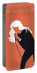 No113 My Faith Hill Minimal Music Poster Portable Battery Charger