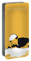 No114 My Grandmaster Flash Minimal Music Poster Portable Battery Charger