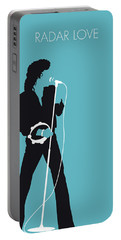 No115 My Golden Earring Minimal Music Poster Portable Battery Charger