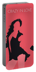 No122 My Beyonce Minimal Music Poster Portable Battery Charger