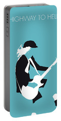 No125 My Acdc Minimal Music Poster Portable Battery Charger