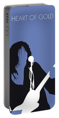 No128 My Neil Young Minimal Music Poster Portable Battery Charger