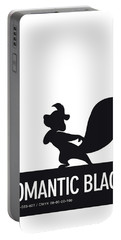No13 My Minimal Color Code Poster Pepe Le Pew Portable Battery Charger