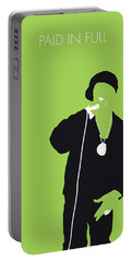 No136 My Ericbandrakim Minimal Music Poster Portable Battery Charger