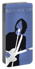 No138 My Soundgarden Minimal Music Poster Portable Battery Charger