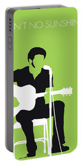 No156 My Bill Withers Minimal Music Poster Portable Battery Charger