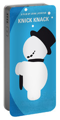 No172 My Knick Knack Minimal Movie Poster Portable Battery Charger