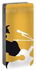 No174 My Jack Johnson Minimal Music Poster Portable Battery Charger