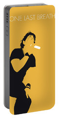 No184 My Creed Minimal Music Poster Portable Battery Charger