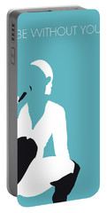 No185 My Maryjblige Minimal Music Poster Portable Battery Charger