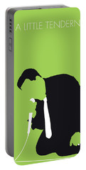 No186 My Otis Redding Minimal Music Poster Portable Battery Charger