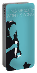 No195 My Lauryn Hill Minimal Music Poster Portable Battery Charger