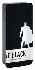 No20 My Minimal Color Code Poster Batman Portable Battery Charger