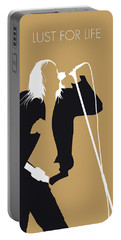 No210 My Iggy Pop Minimal Music Poster Portable Battery Charger