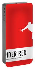 No24 My Minimal Color Code Poster Spiderman Portable Battery Charger