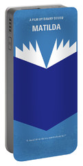 No291 My Matilda Minimal Movie Poster Portable Battery Charger