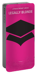 No301 My Legally Blonde Minimal Movie Poster Portable Battery Charger