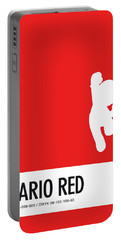No33 My Minimal Color Code Poster Mario Portable Battery Charger