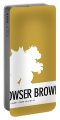 No38 My Minimal Color Code Poster Bowser Portable Battery Charger