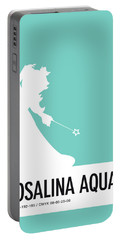 No39 My Minimal Color Code Poster Rosalina Portable Battery Charger
