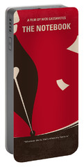 No440 My The Notebook Minimal Movie Poster Portable Battery Charger by Chungkong Art