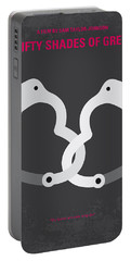 No442 My Fifty Shades Of Grey Minimal Movie Poster Portable Battery Charger