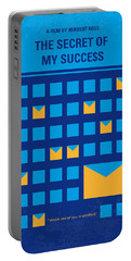 No464 My The Secret Succes Minimal Movie Poster Portable Battery Charger