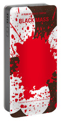 No471 My Black Mass Minimal Movie Poster Portable Battery Charger
