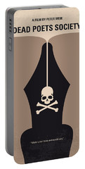 No486 My Dead Poets Society Minimal Movie Poster Portable Battery Charger