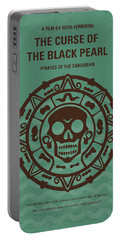 No494-1 My Pirates Of The Caribbean I Minimal Movie Poster Portable Battery Charger